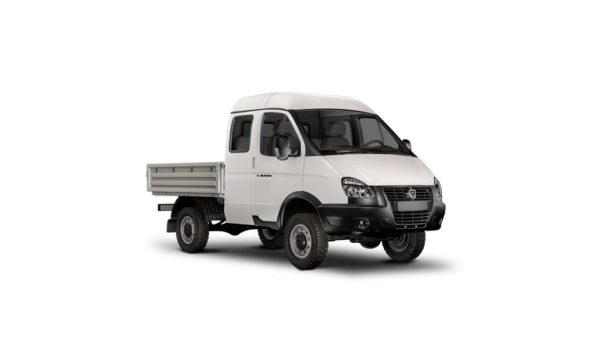 """ГАЗ-231073 """"Соболь 4х4 Фермер"""" бортовая платформа с тентом, 6 мест."""