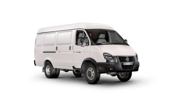 "ГАЗ-27057 ""ГАЗель Бизнес 4х4"" цельнометаллический фургон, 3 мест."