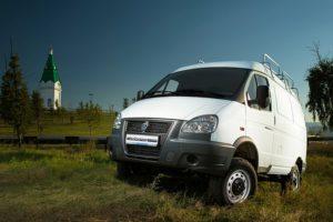 "ГАЗ-27527 ""Соболь 4х4"" цельнометаллический фургон, 3 мест."