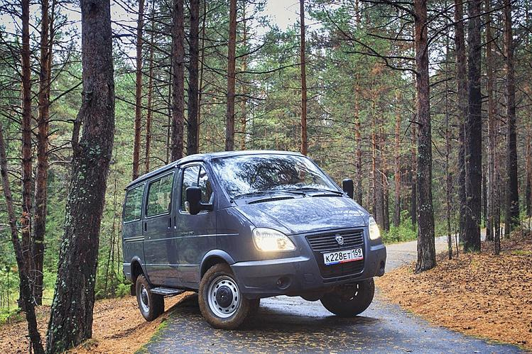 """ГАЗ-22177 """"Соболь 4х4"""" микроавтобус с низкой крышей, 6+1 мест."""